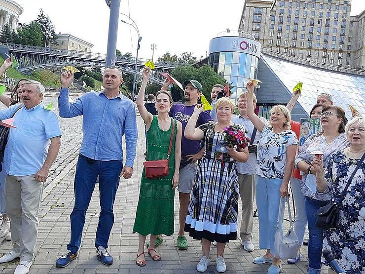 В'язня Кремля привітали з днем народження