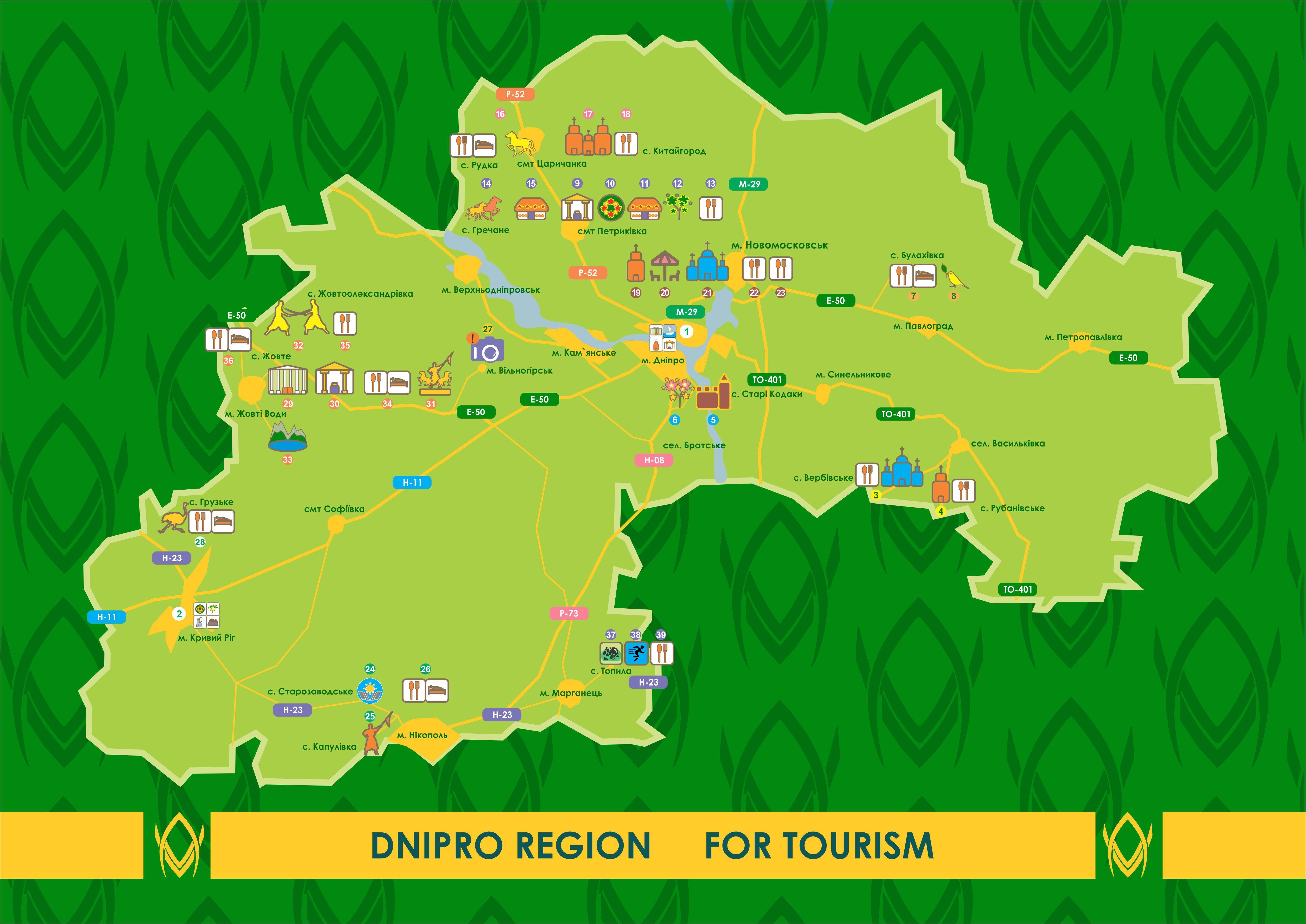 Дніпро: Визначили, чим приваблюватимуть туристів