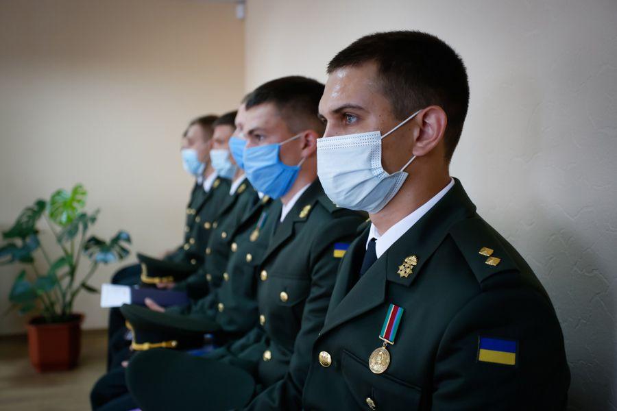 Службу в зоне ООС молодые лейтенанты выбрали сознательно