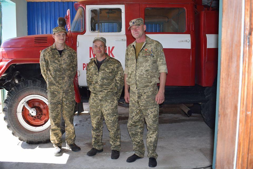 У селі Радивонівка з'явився пожежний підрозділ