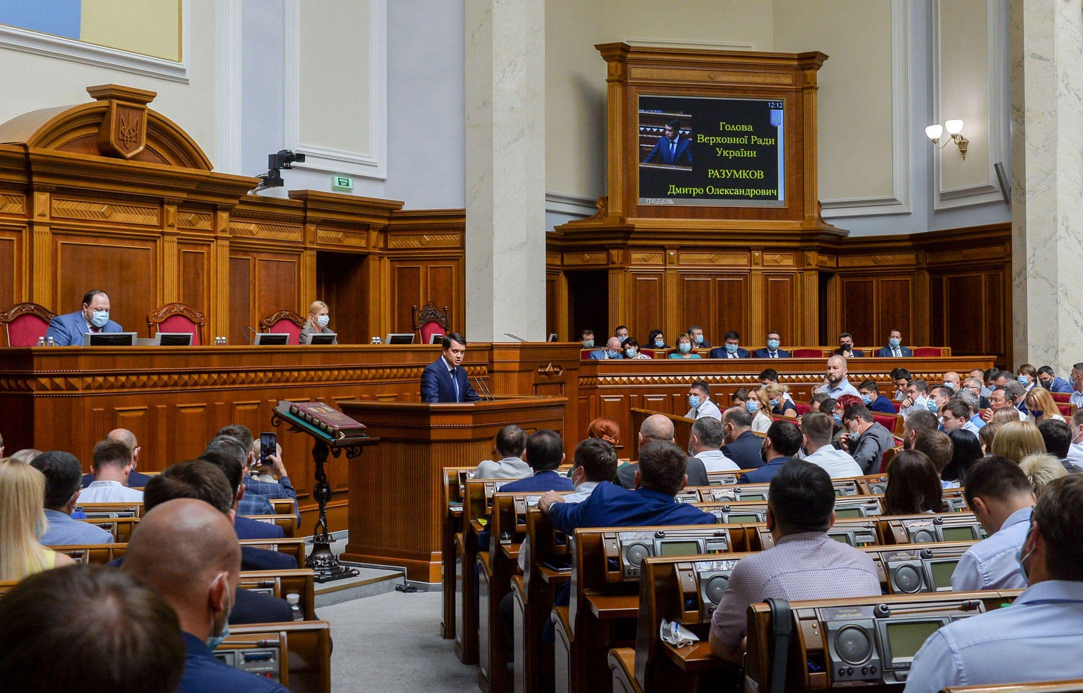 У державі сильні, потужні, надійні інституції, головною з яких, згідно з Конституцією, є Верховна Рада України
