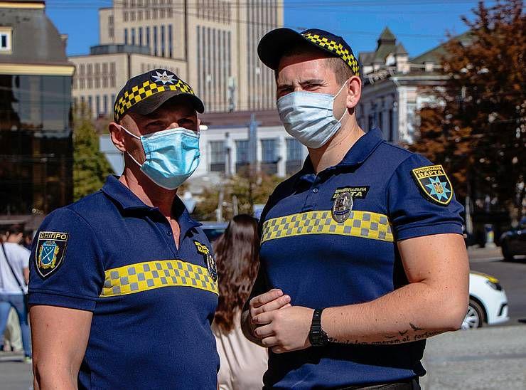 В Днепре улицы контролирует  муниципальная стража