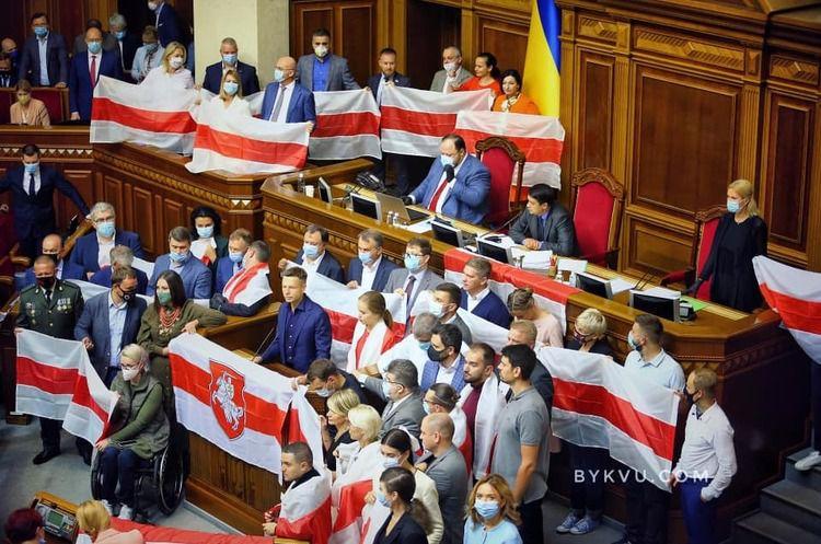 Ukrainisches Parlament verurteilte Handlungen Lukaschenkos. Ukraine-Kurs auf NATO und EU bleibt unabänderlich