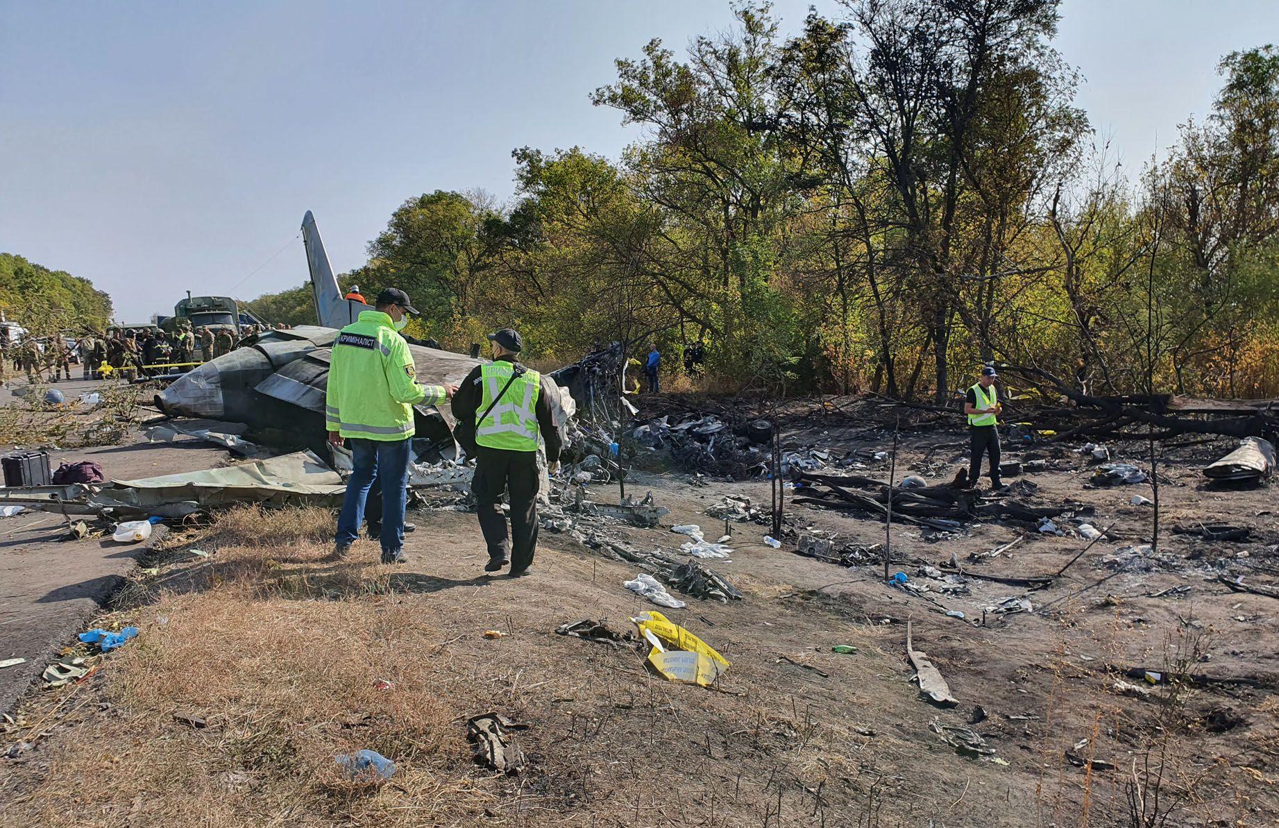 Крушение военного самолета АН-26:  с неба на землю и снова... на небо