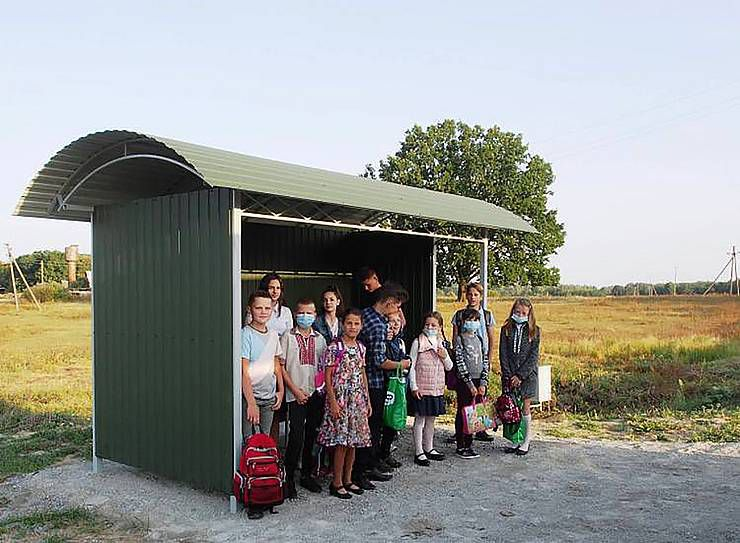 Житомирщина: На зупинку чекали півстоліття
