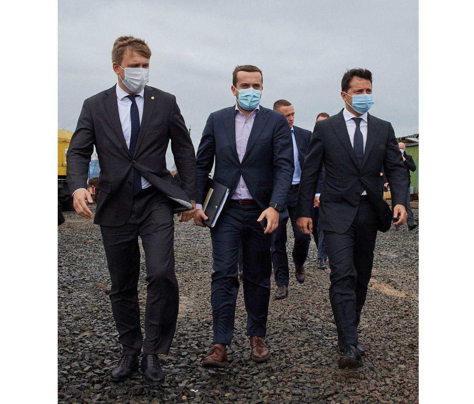 Президент побував на об'єктах  «Великого будівництва» Рівненщини