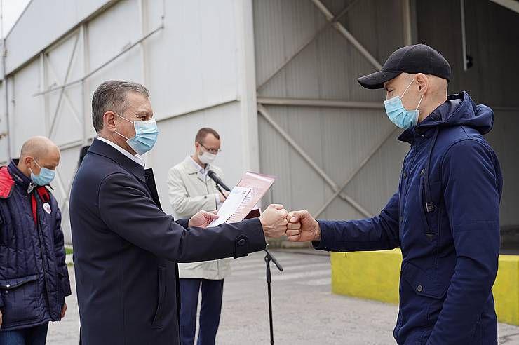 Вінниця: Під час карантину завод не зупинили, тільки графік змінили