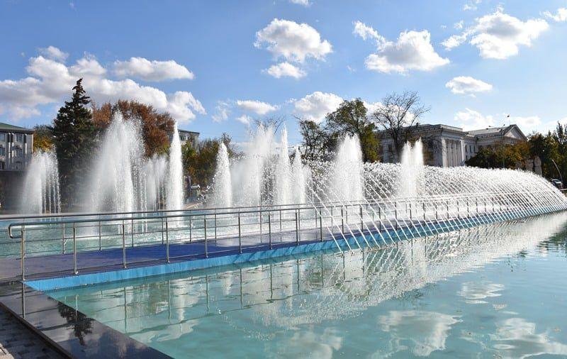 Новий фонтан відкриють у центрі Краматорська