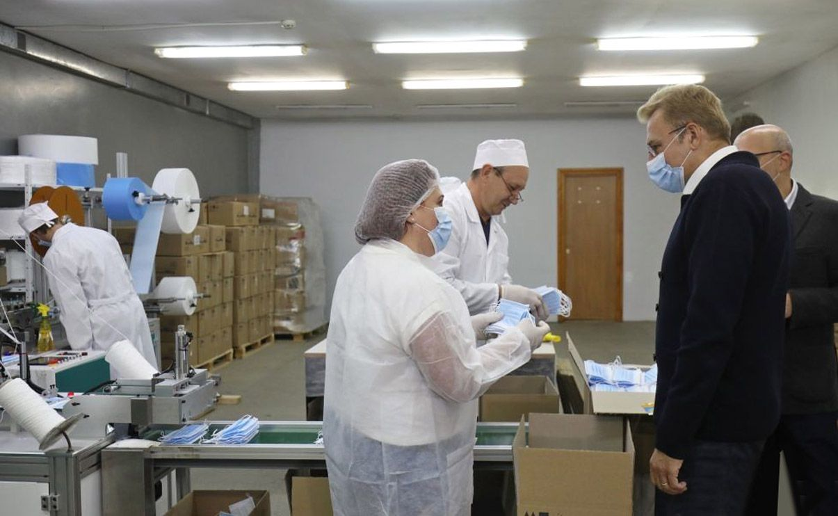 Львів: Налагодили виробництво медичних масок