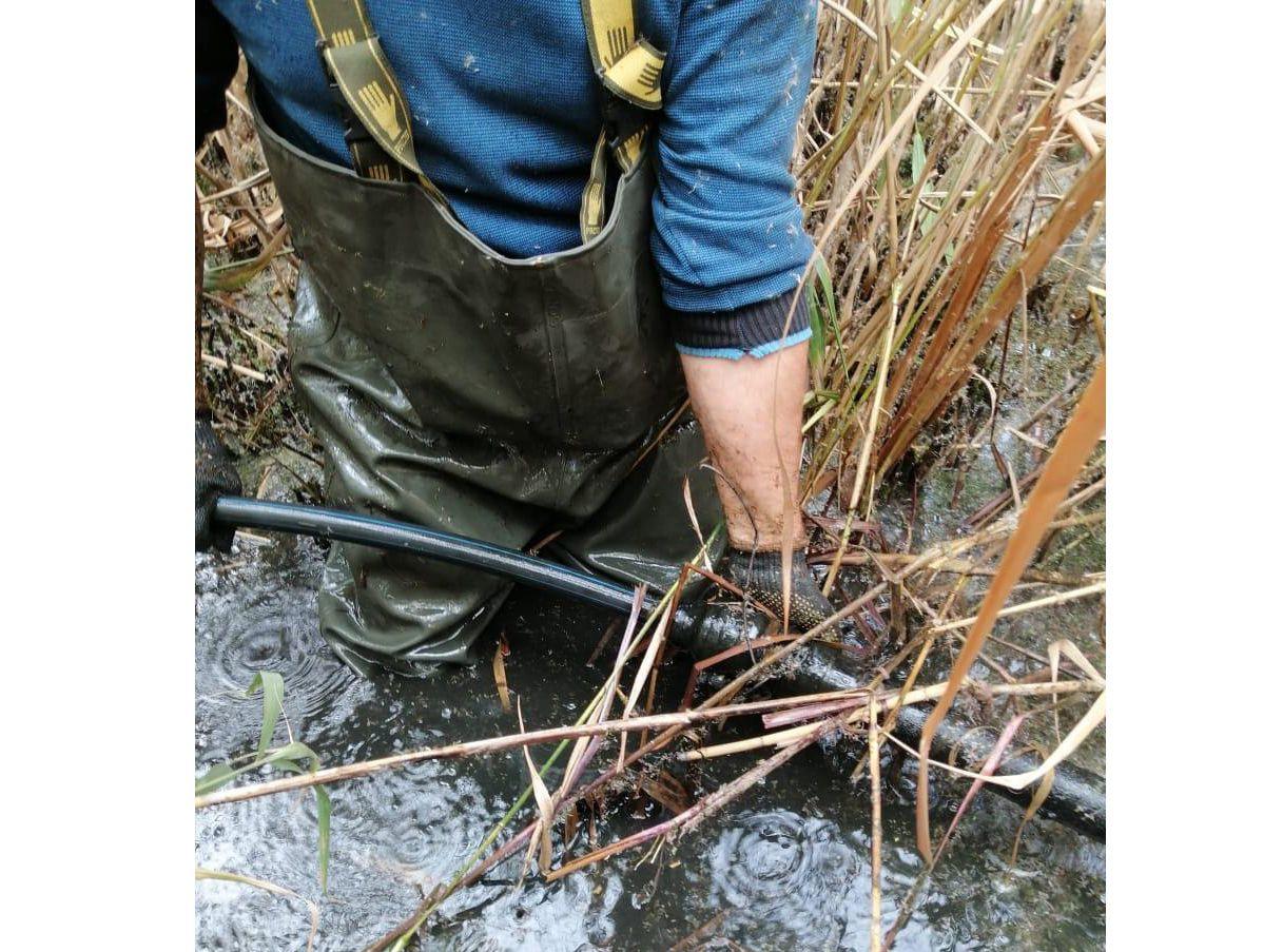 Одещина: Спиртопровід сховали на дні водосховища