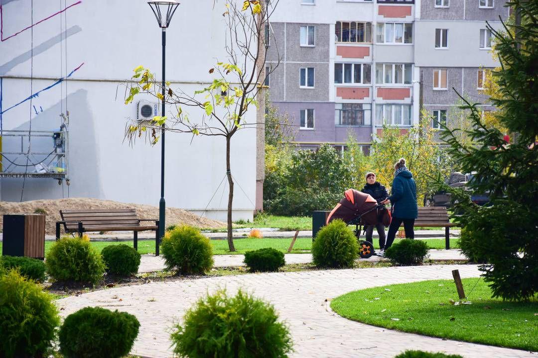 В Чернигове появился еще один мини-сквер