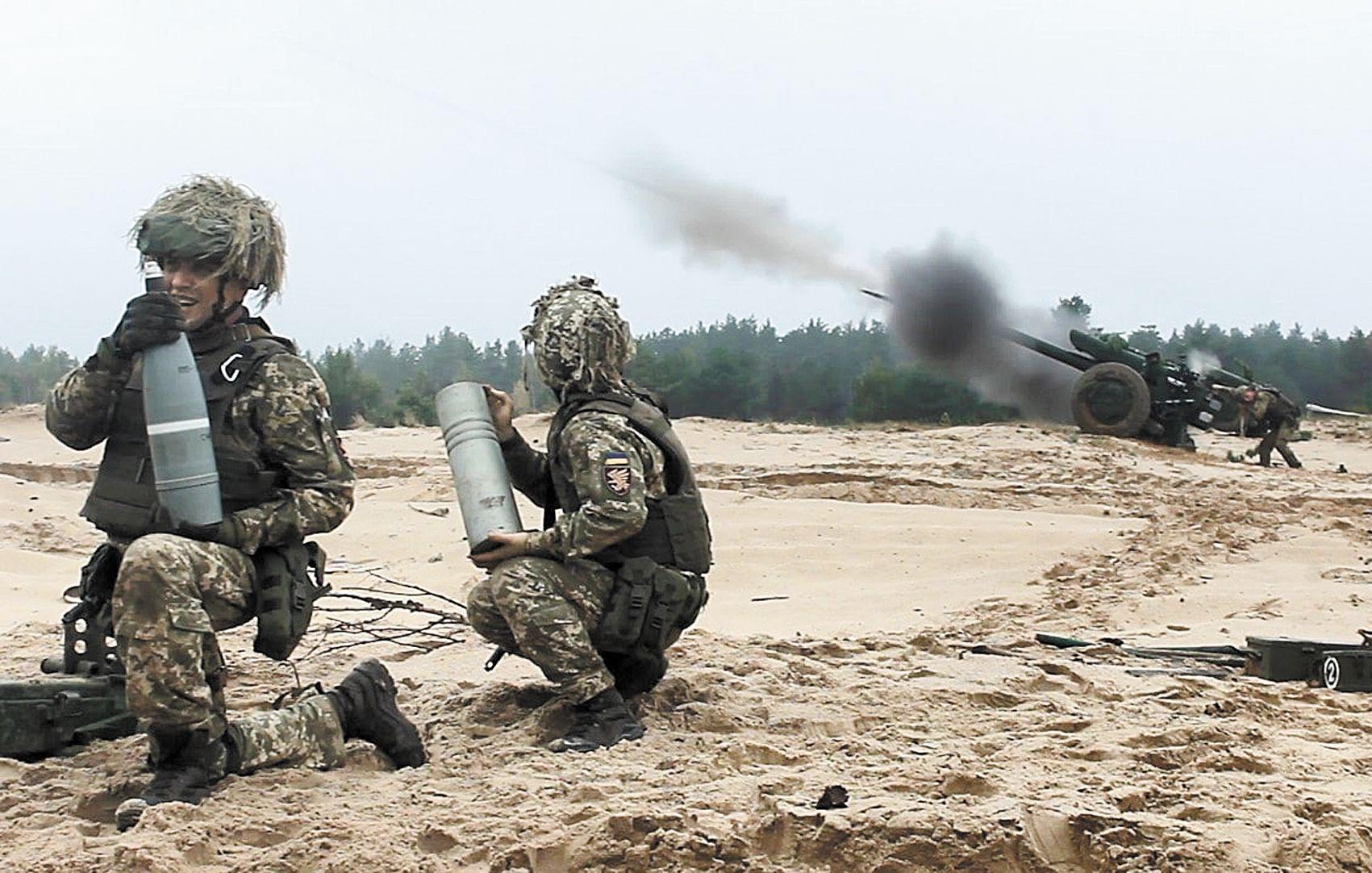 Десантники-артилеристи впевнені, що противник буде уражений