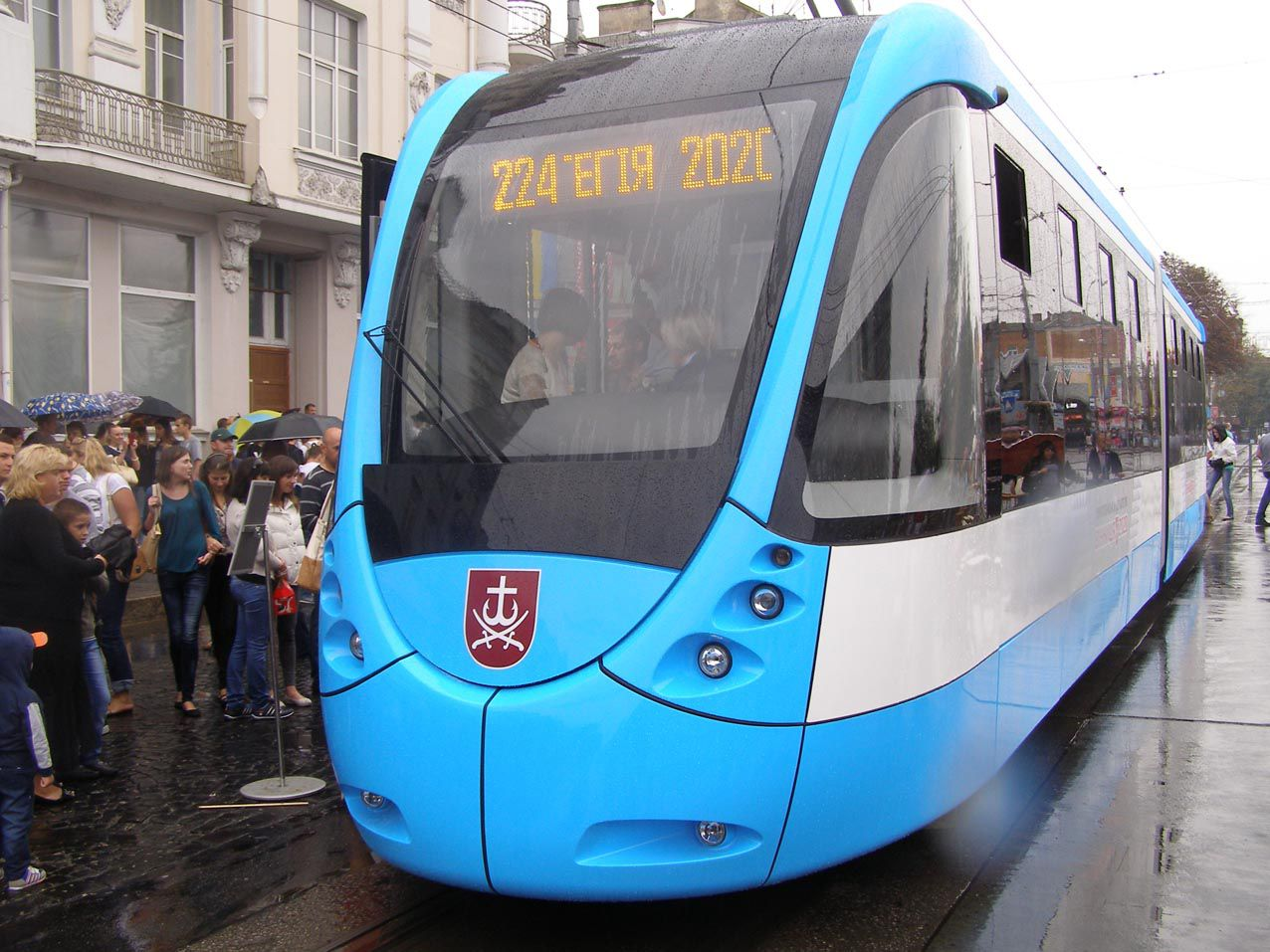Вінниця: У трамвая іменини