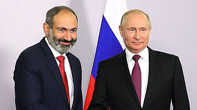 Прем'єр Вірменії звернувся до Кремля. Йому відповіли