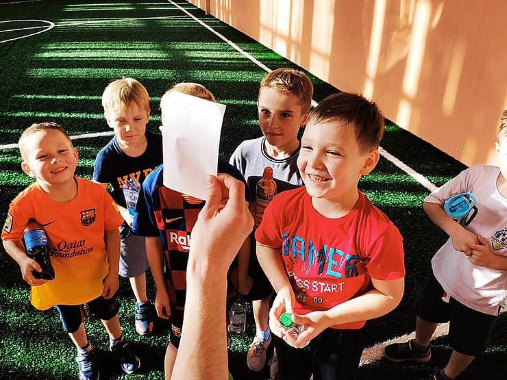 Долучають особливих дітей до футболу