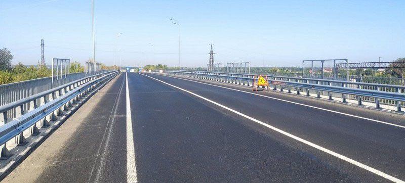 Завершили капитальный ремонт путепровода на окраине Винницы
