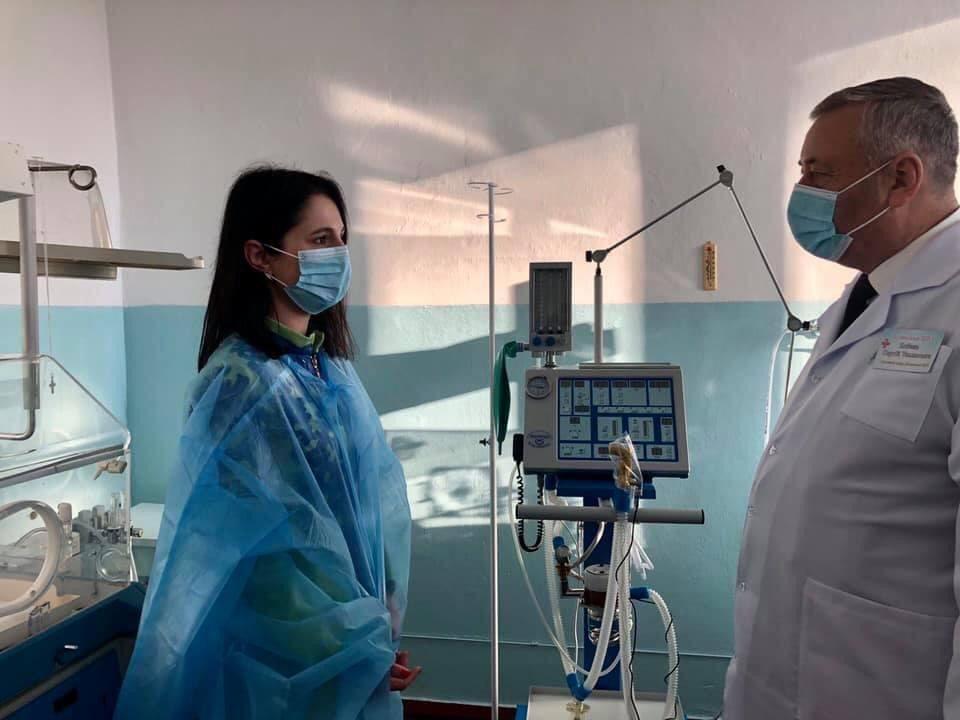 Ирина Борзова привлекла государственную субвенцию на приобретение оборудования для больницы