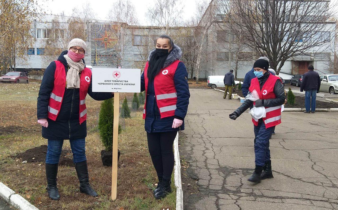 Донетчина: Под знаком Красного Креста