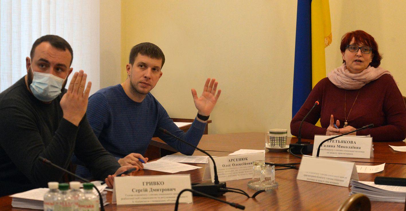 Состоялось заседание комитета по вопросам социальной политики и защиты прав ветеранов