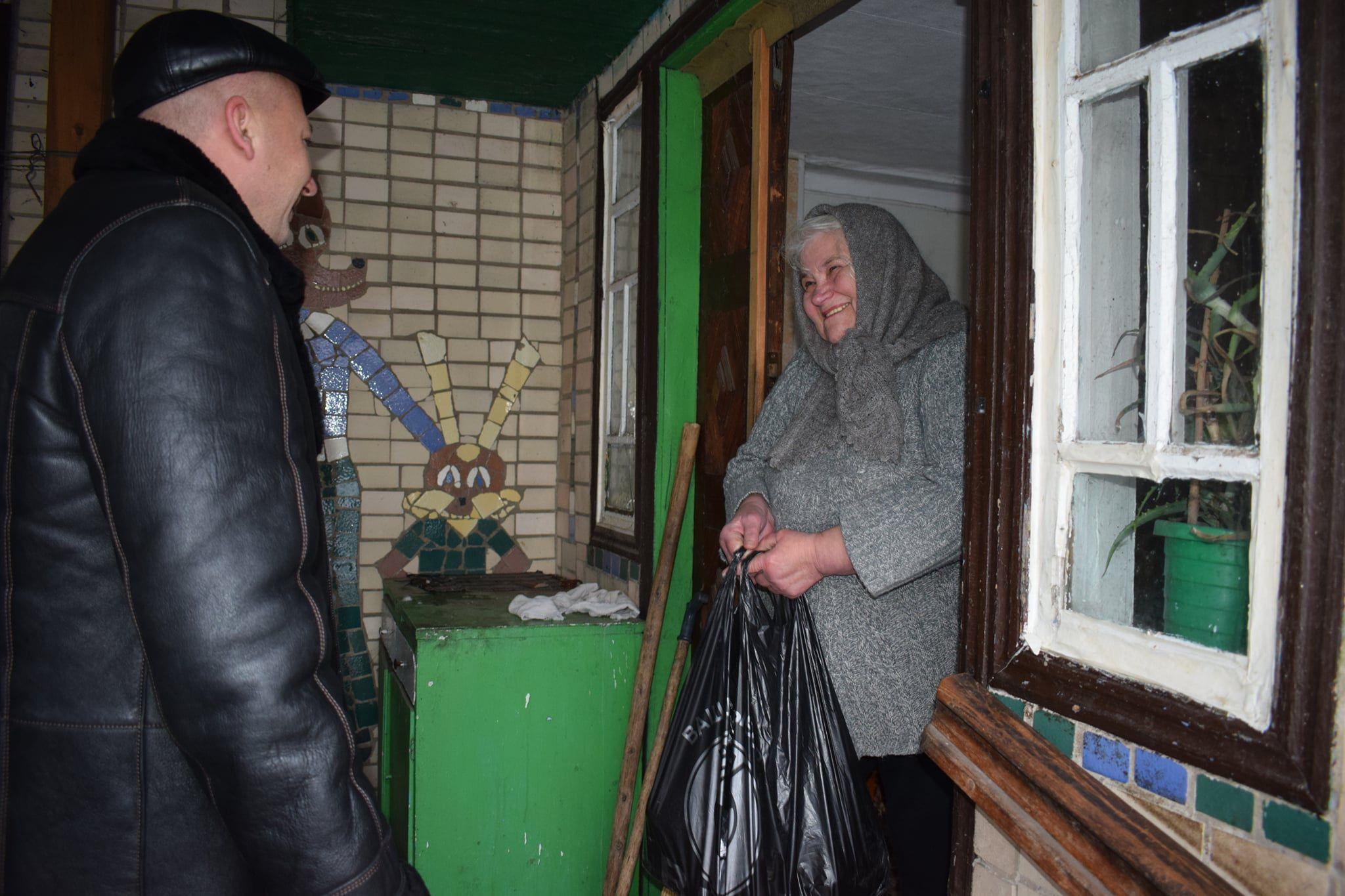 Полтавщина: Привітали ветеранів соціальної сфери
