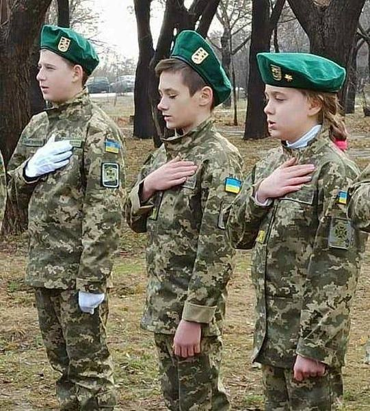 У Маріуполі відбулась посвята юних містян у кадети