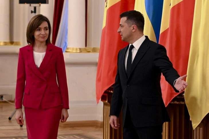 Beginn neuer Beziehungen von Ukraine und Republik Moldau