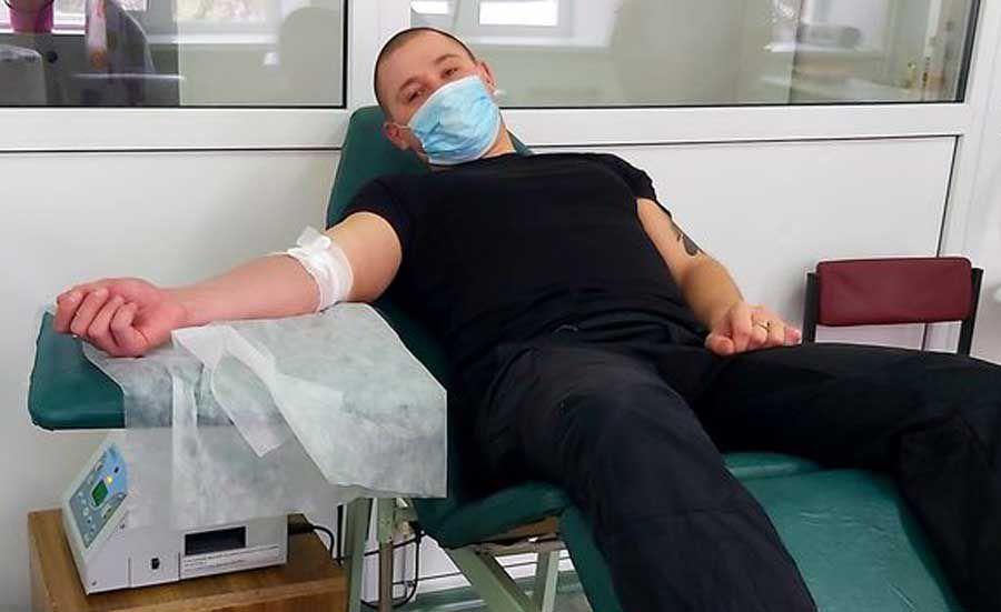 Полтавщина: Спасительная кровь... патрульных