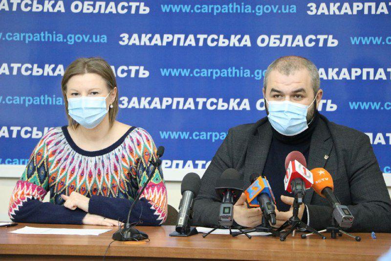 Закарпатье: Мобильные бригады будут делать прививки