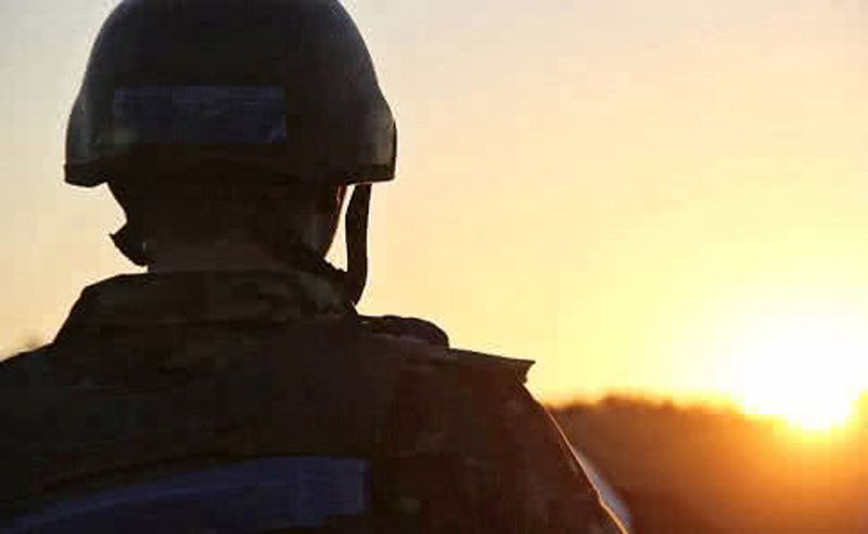 Ранили нашего военного