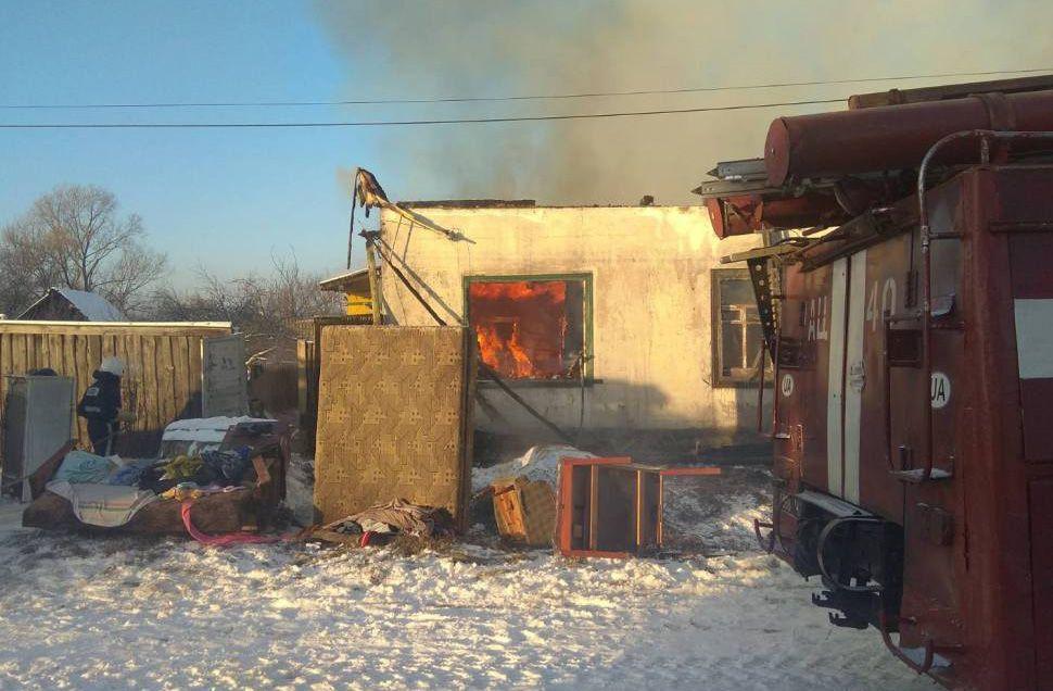 Чернігівщина: У Добрянці палав багатоквартирний будинок