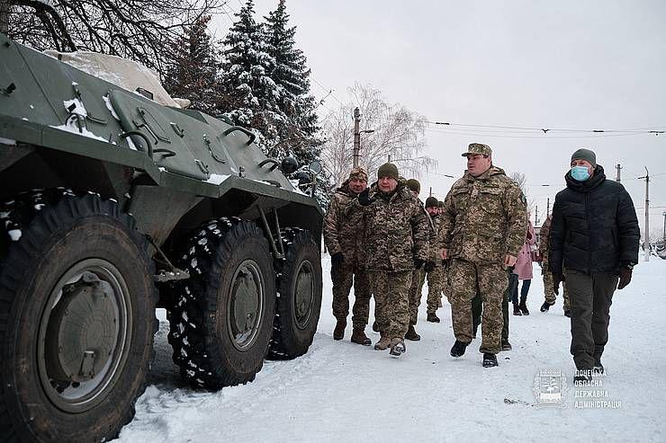 Керівник «Укроборонпрому» побував у районі ООС
