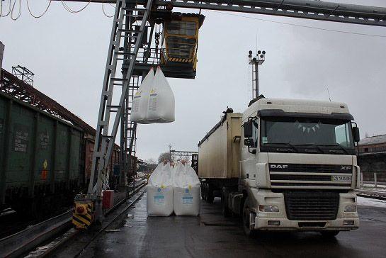 Черкасчина: Химический гигант наращивает производство минудобрений