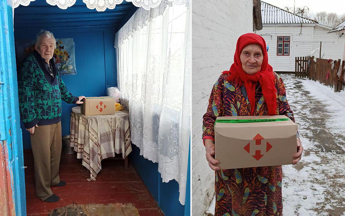 Житомирщина: Продукти надали благодійники