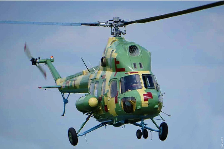 Николаевщина: Новый вертолет для ВМСУ