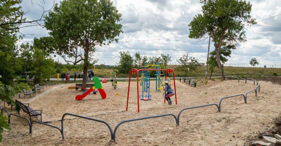 Харьков: На месте мусоросвалок — детские площадки