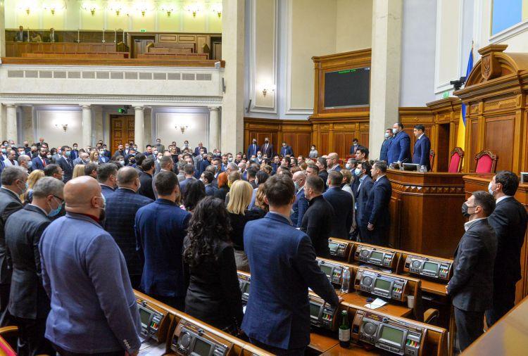 Верховная Рада признала Революцию Достоинства ключевым моментом создания государства и выразителем национальной идеи свободы