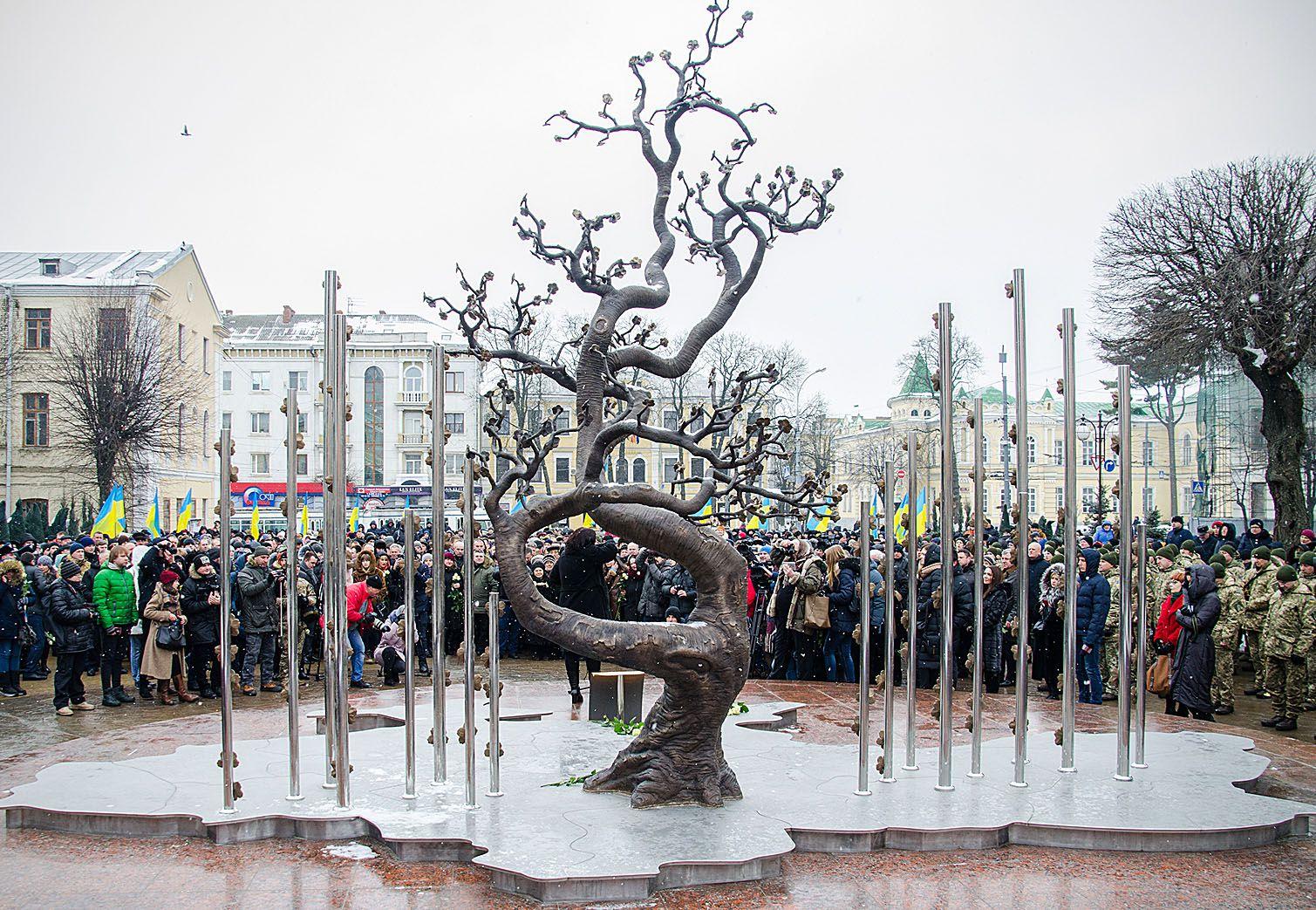 Винница: Студенты соберутся у «Дерева Свободы»