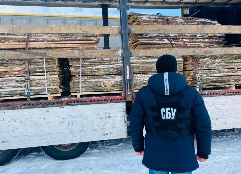 Черкасчина: Организовала аферу с древесиной