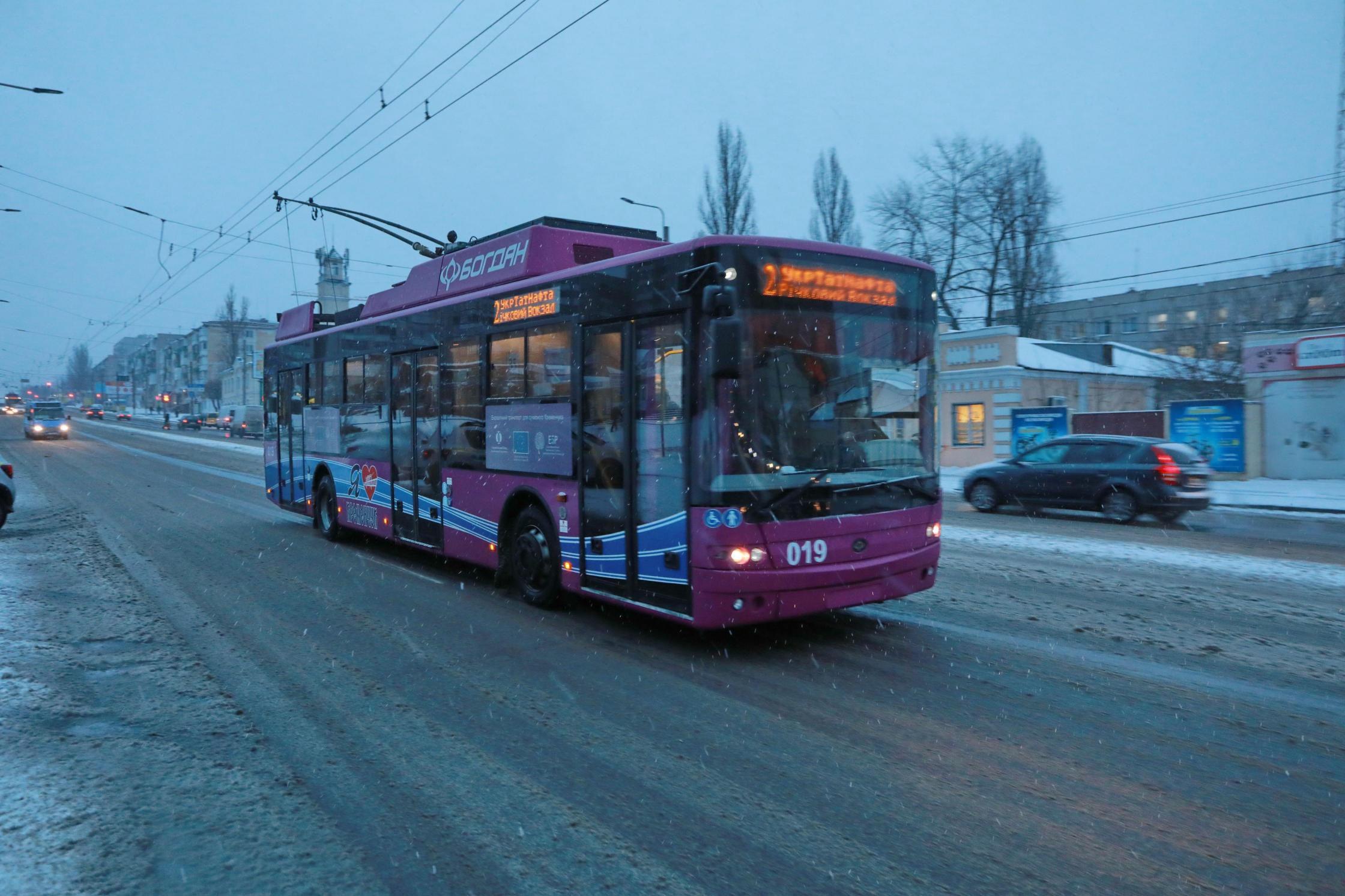 Полтавщина: водіїв тролейбусів готують самі