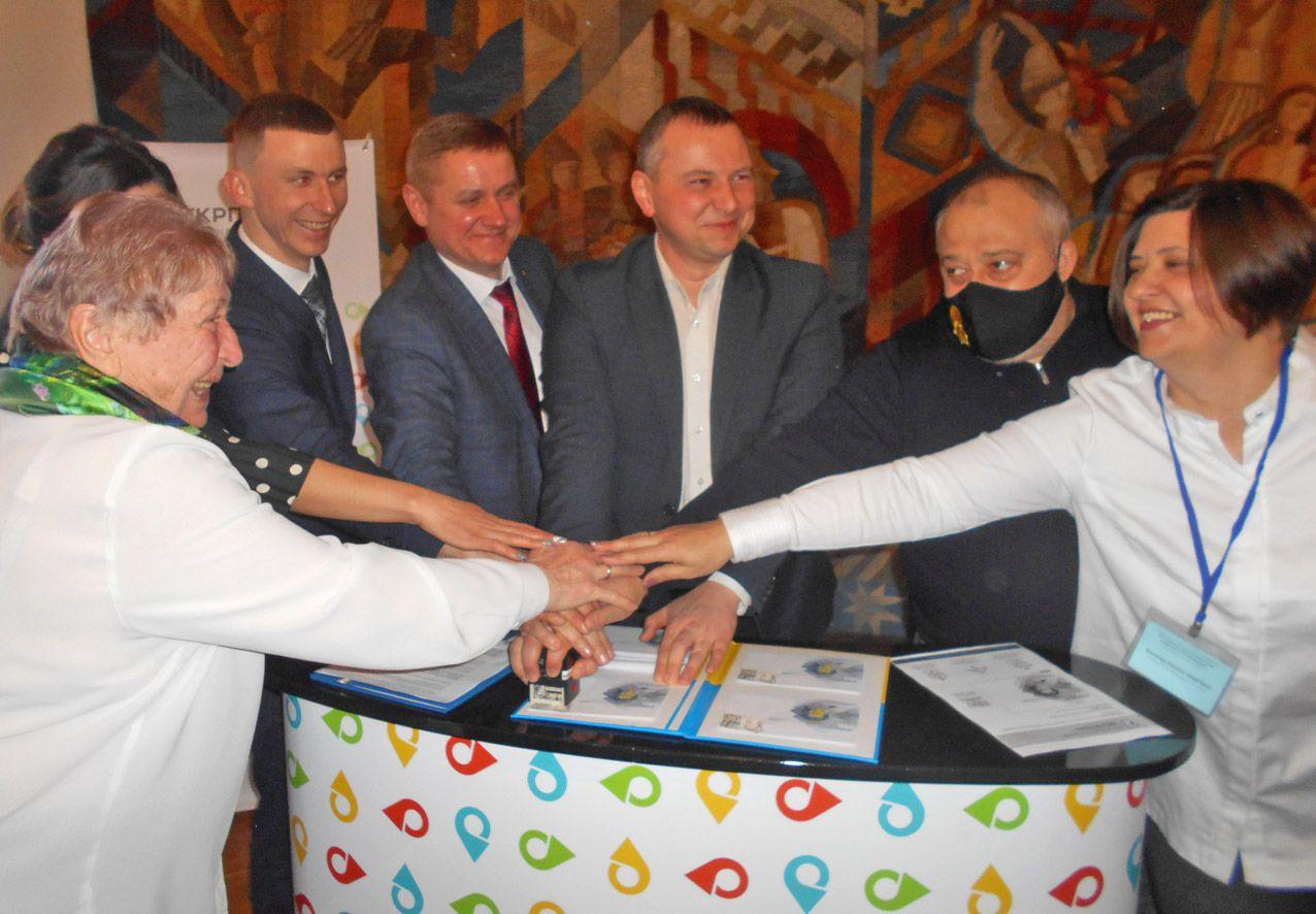 Состоялось спецпогашение конверта с изображением Леси Украинки