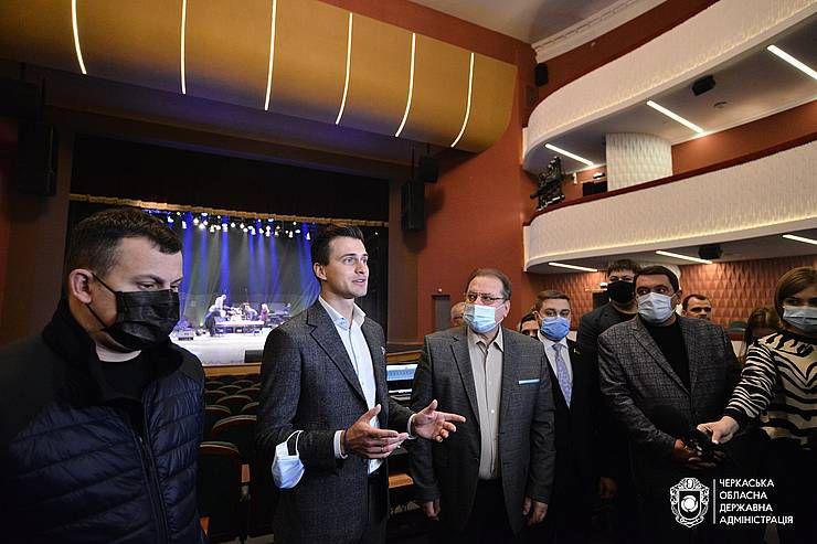 В Черкассах театр восстанавливали пять лет