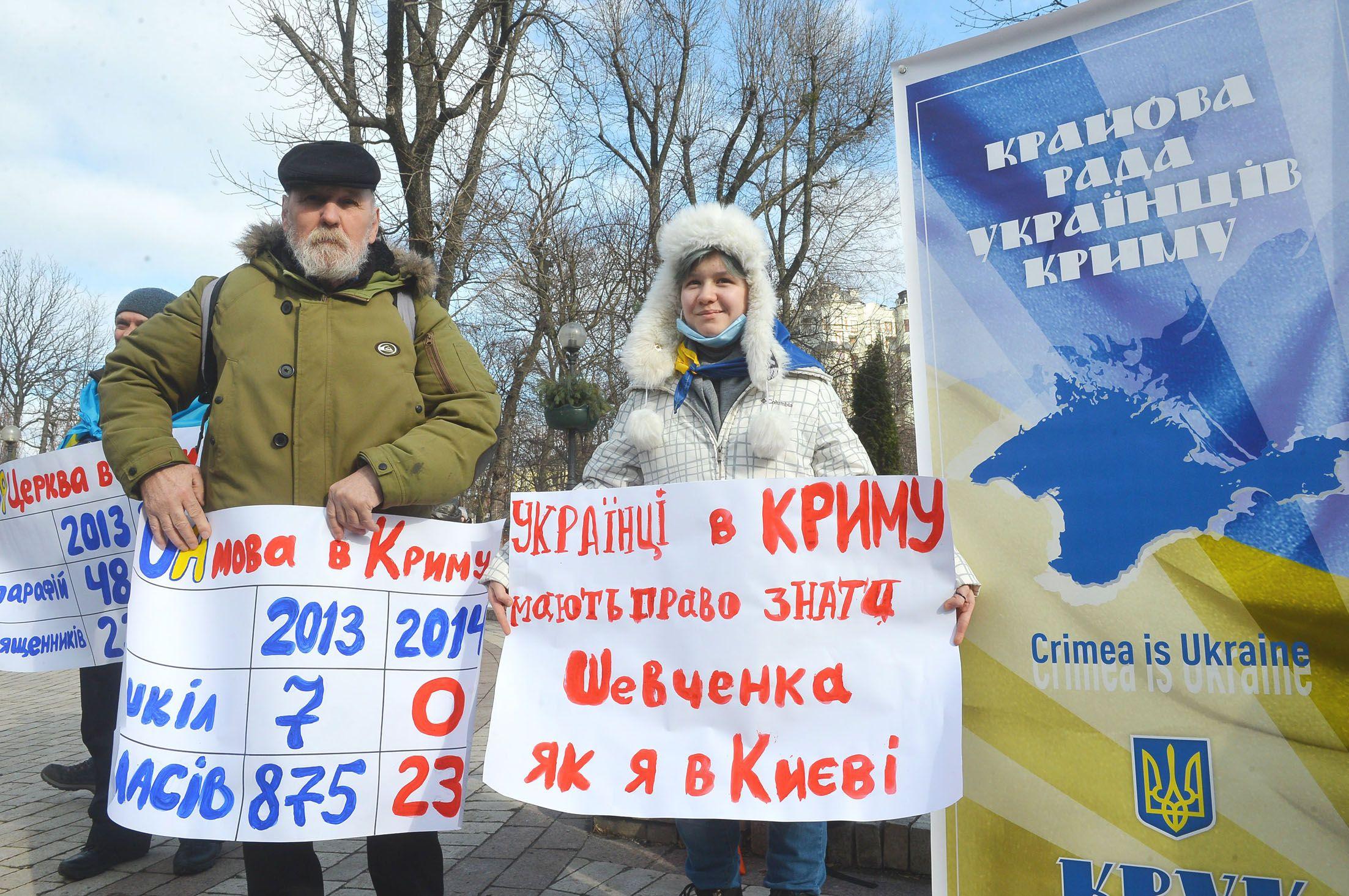 Відбулася щорічна акція солідарності з українським Кримом