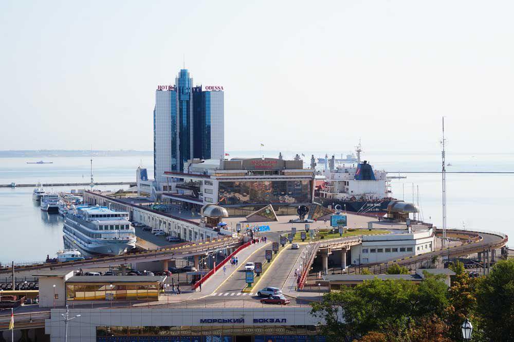 Предприниматели из Пакистана посетили Одесский морской порт