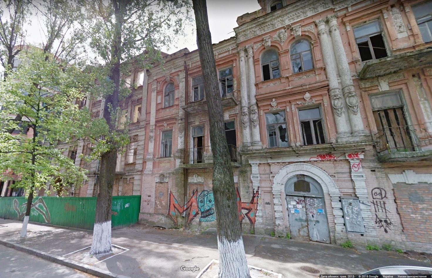 Київ: Чергову пам'ятку готують під знесення?