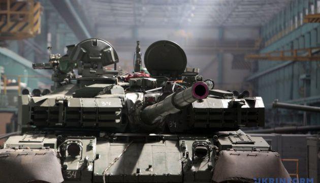 У Харкові танк «Оплот» готують до демонстрації
