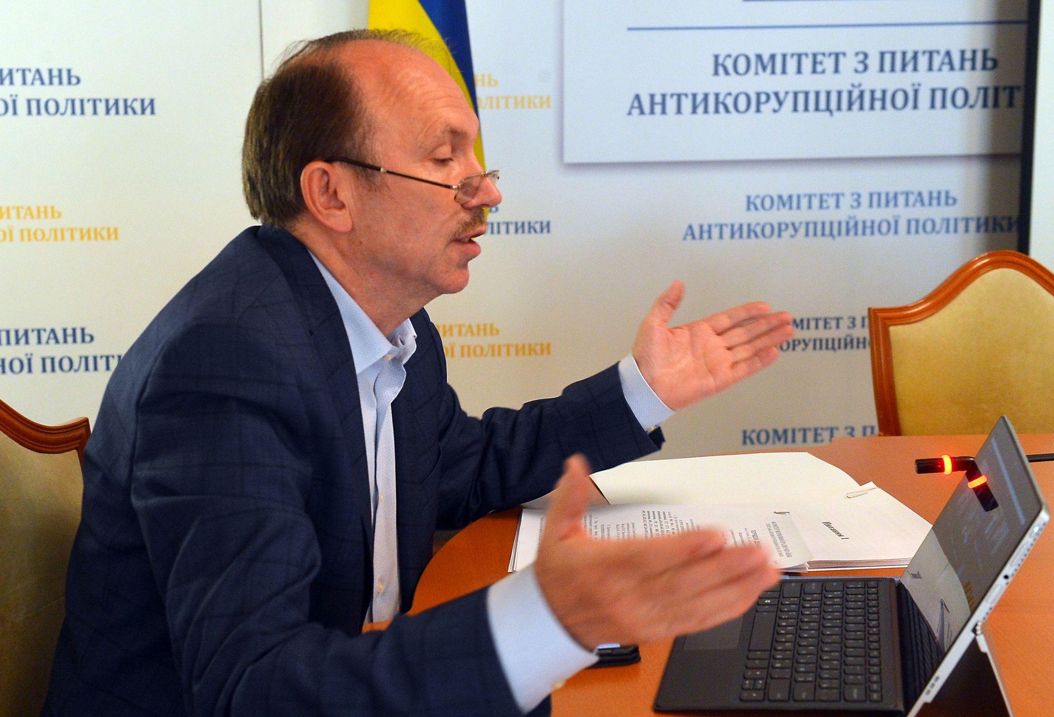 Юрий Сорочик во время заседания комитета в режиме видеоконференции