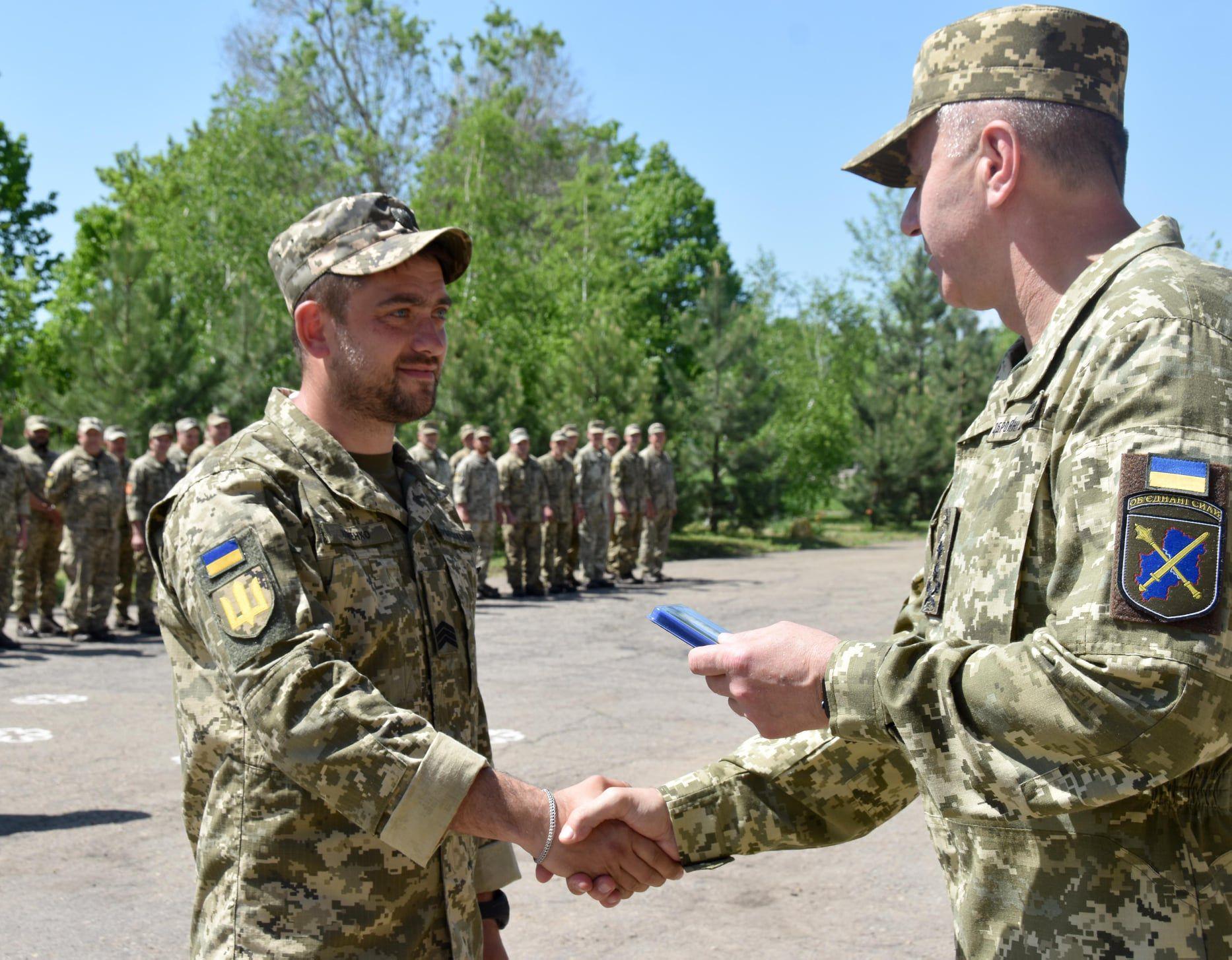 Батальон «Полесская Сечь» отметил годовщину