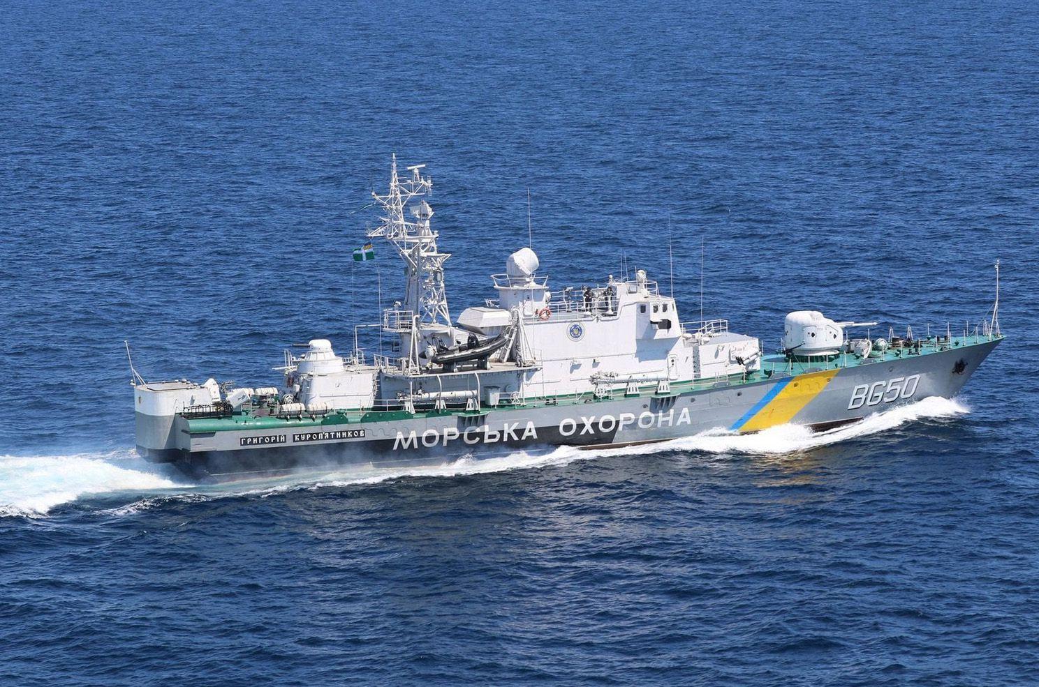 В акватории Черного моря проведены тренировки типа «PASSEX»