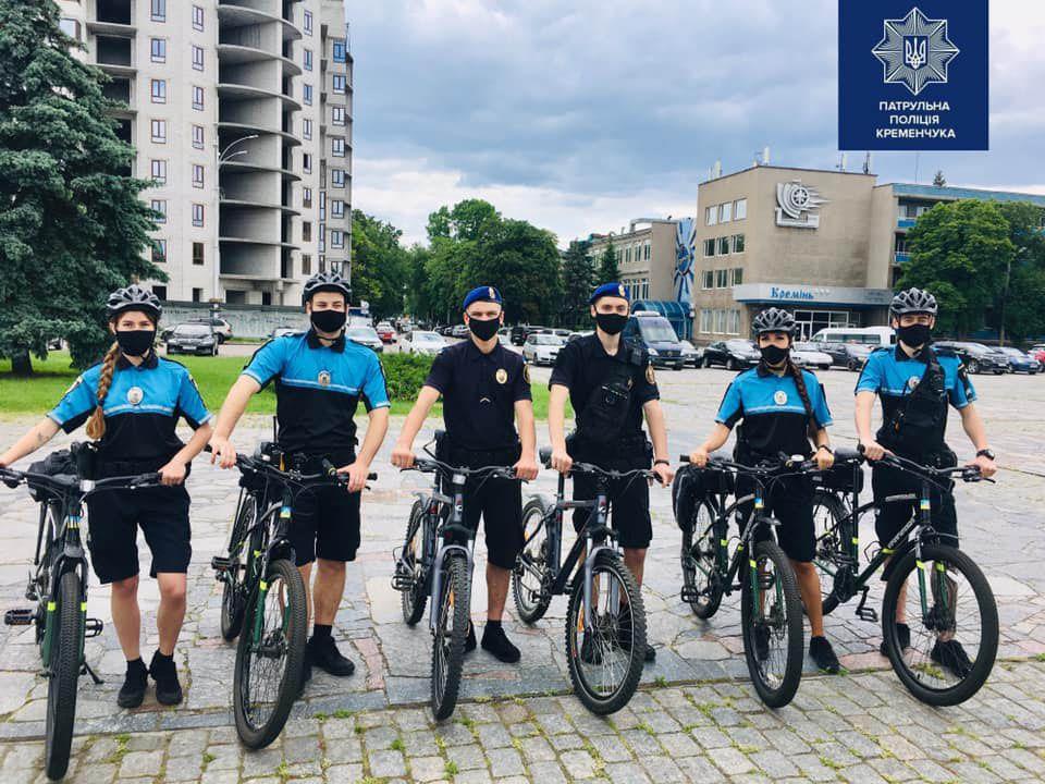 На Полтавщине правоохранителей «вооружили»... велосипедами