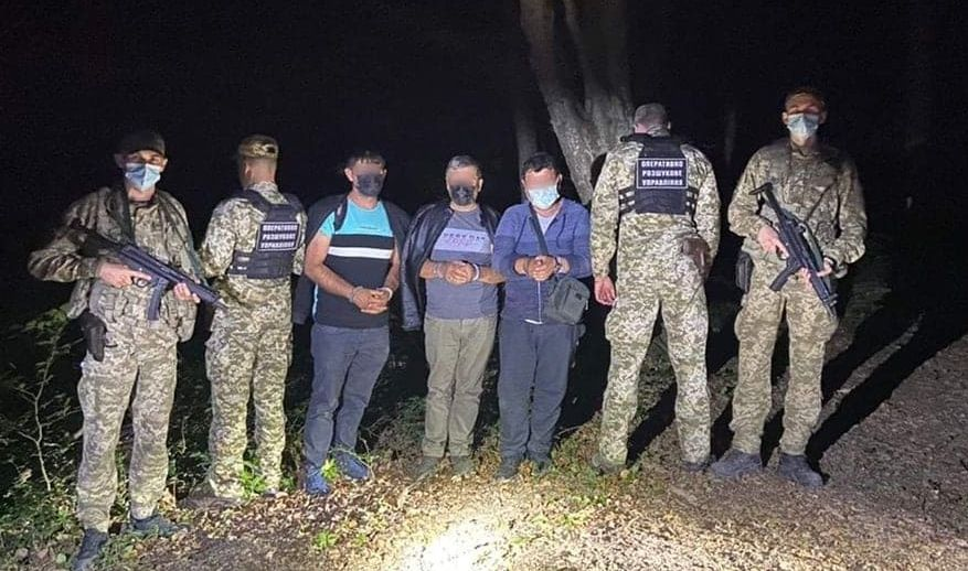 На Закарпатье задержали группу нелегалов